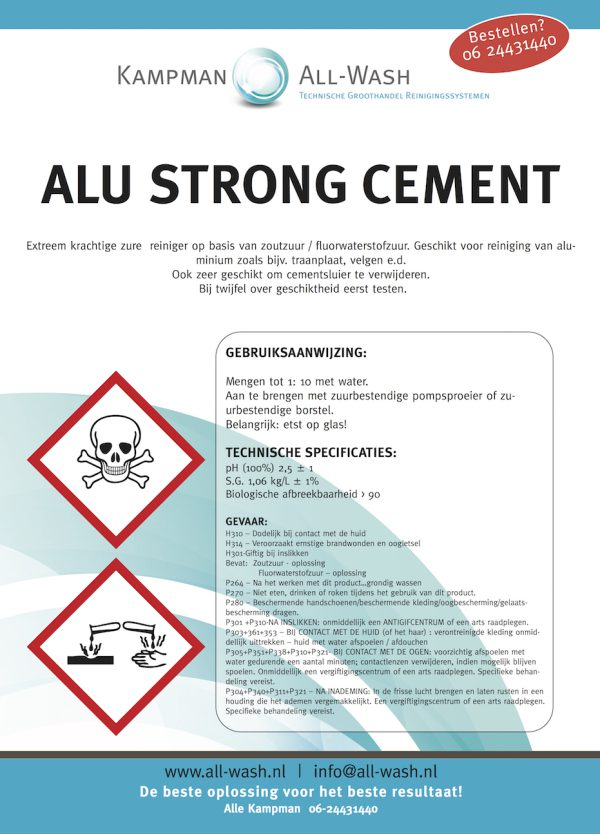 Alu-strong-cement
