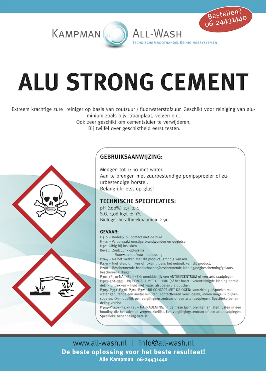 Alu Strong Cement