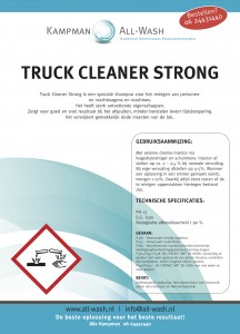 Truck Cleaner Strong